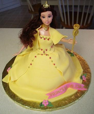 Disney Princess Belle was my daughter's favorite Princess when she was