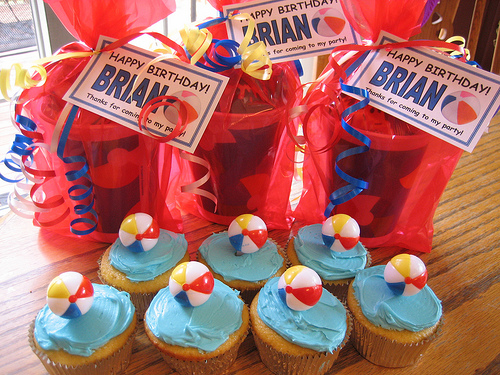 kids birthday party favor ideas. I selected and put together the party