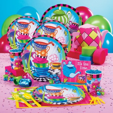 alice and wonderland tea party birthday supplies