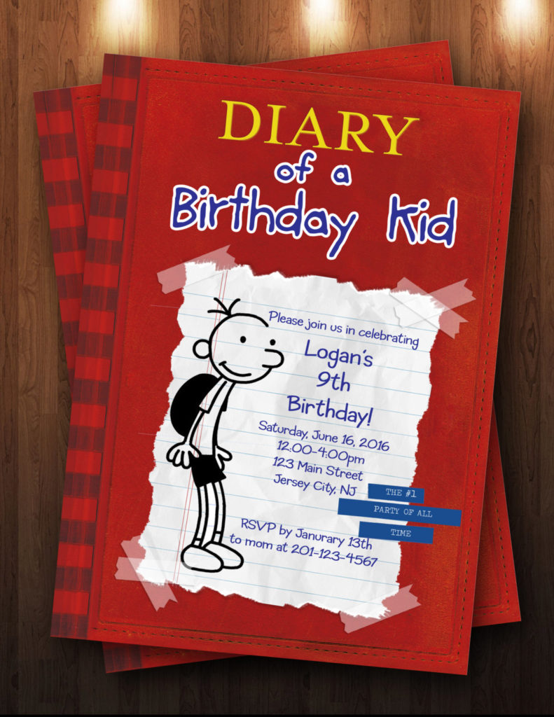 Diary Of A Fashion Mister Strictly Confidential: Diary Of A Wimpy Kid Birthday Party
