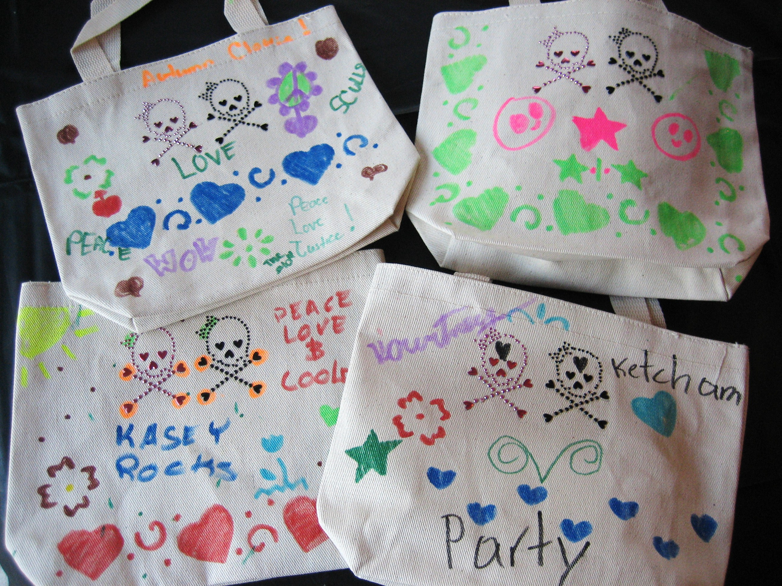 Tote Bag Party Craft - Kids Birthday Parties