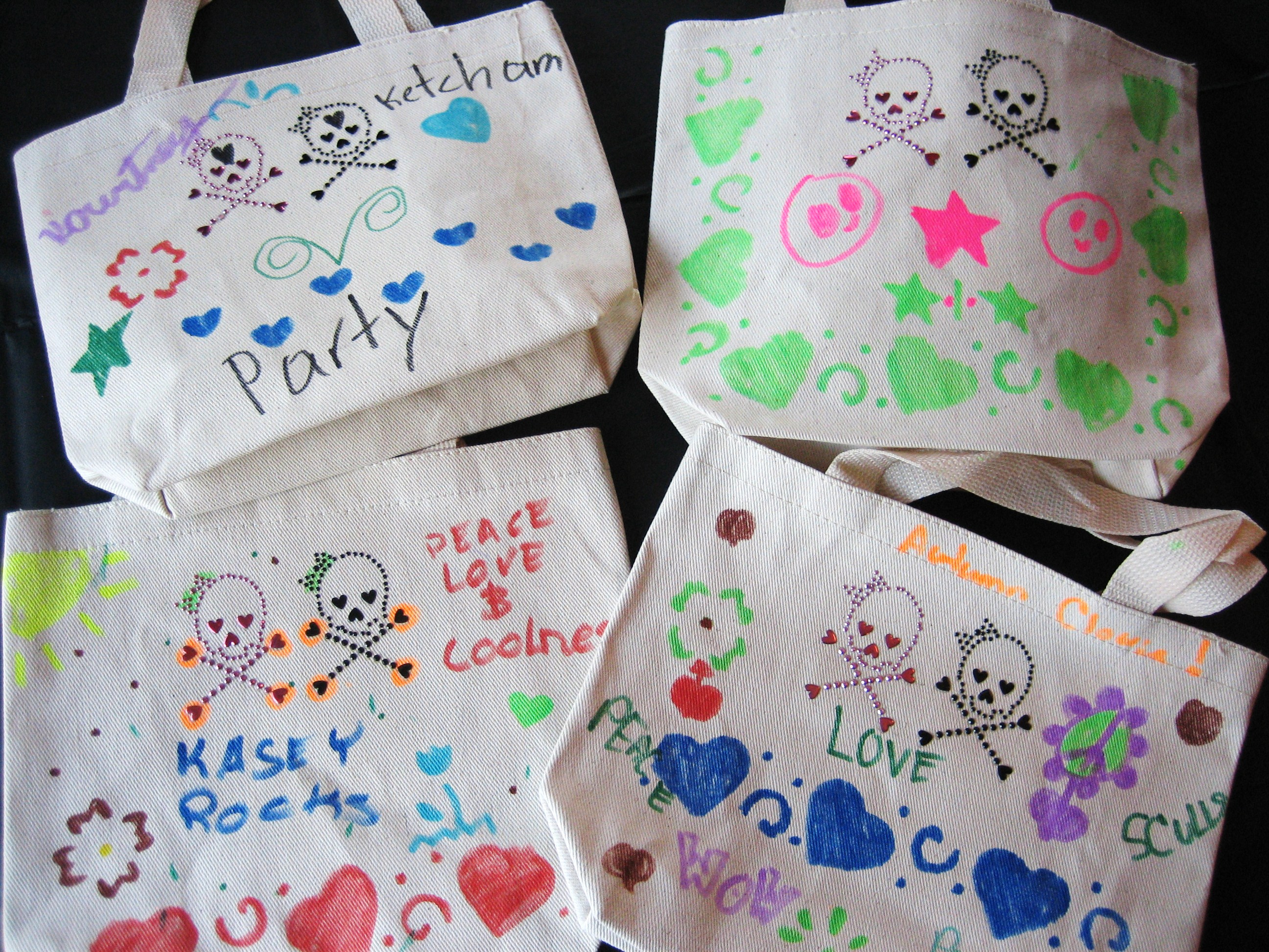 Tote Bag Party Craft