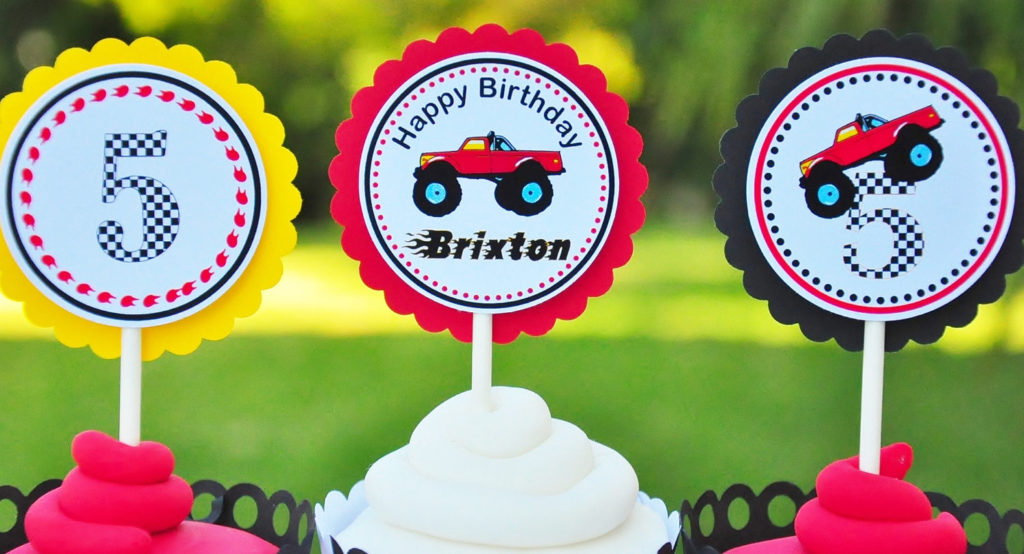 Monster Truck Party Supplies Archives Kids Birthday Parties