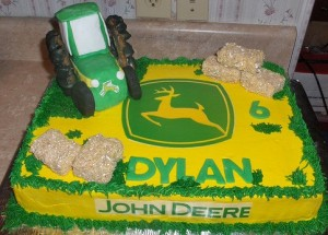 John Deere Cake Instructions Archives Kids Birthday Parties