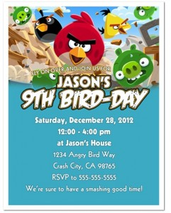 Angry Birds Birthday Party Kids Birthday Parties