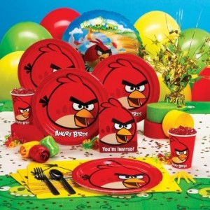 Angry birds birthday party kids birthday parties for Angry birds party decoration ideas
