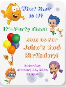 Bubble Guppies Party Supplies Kids Birthday Parties