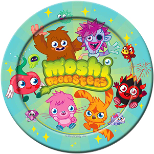 Moshi Monsters Party Supplies Kids Birthday Parties