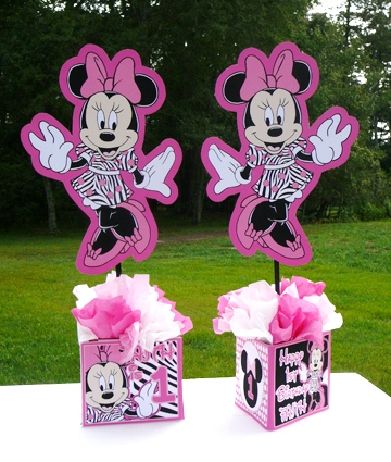Minnie Mouse Zebra Party Supplies