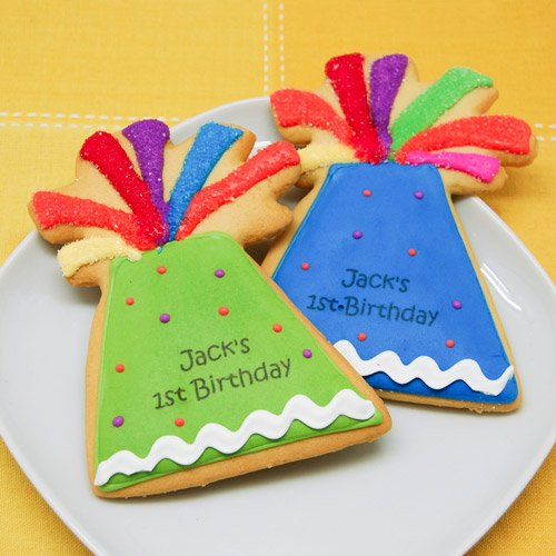personalized party favor cookies