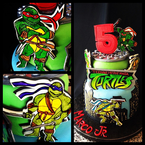 Wonderful Teenage Mutant Ninja Turtles Birthday Party 500 x 500 · 189 kB · jpeg