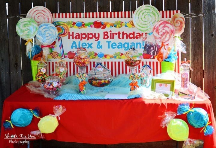 Candyland Birthday Party Ideas Kids Birthday Parties