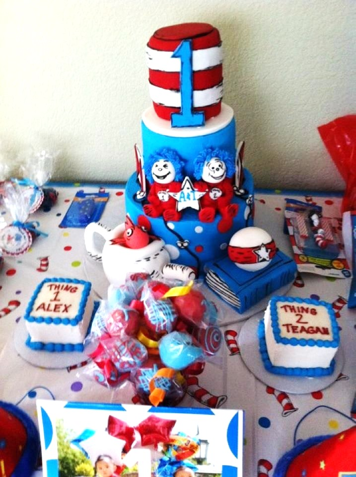 Dr Seuss 1st Birthday Party Kids Birthday Parties