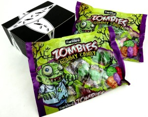 Zombie candy favors