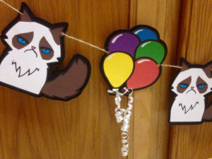 Grumpy Cat Party Supplies