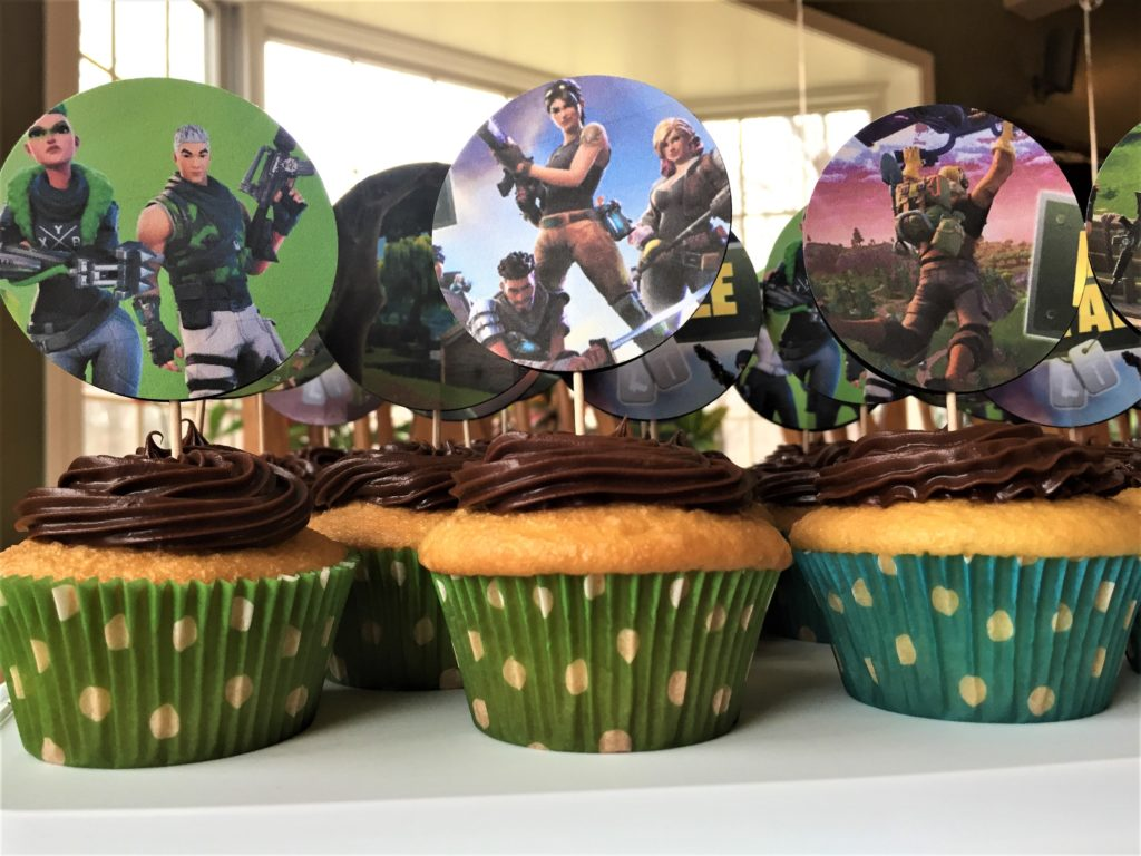 I Made These Fortnite Cupcake Toppers For My Sons 13th Birthday And Posted A Photo Online The Response Has Been Amazing With Many People Asking Me How